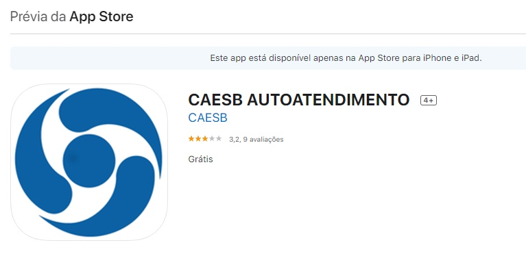 caesb agencia virtual